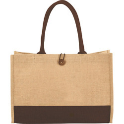 Jute Promotion Bag With Button