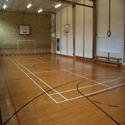 Asian Flooring Indoor Air Cush Volleyball Court Flooring