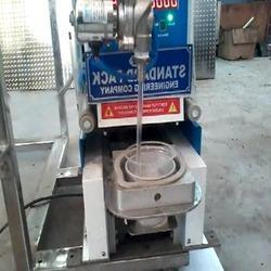 Disposable Cup Filling and Sealing Machine