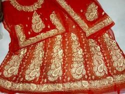 Rajputi Bridal Dress Red Colour