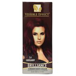Burgundy Hair Dye Cream