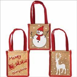 RJU Jute Christmas Bag