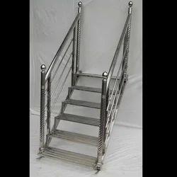 Steel Stage Stair