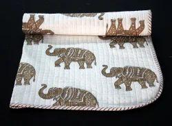 Handmade Machine Quilte Baby Quilt