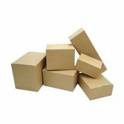 Kraft Paper Plain Industrial Corrugated Box, For Pharmaceutical, Rectangle