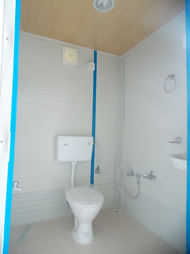 Sintex Plasto Panel Toilet Block Gi Workers Toilet Block