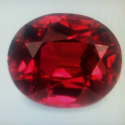 Red Sapphire Stone