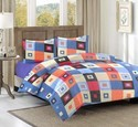 Cotton Bed Sheet With Pillow Cover