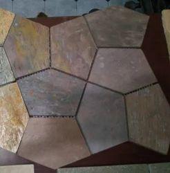Natural Slate Stone Mosaic Tiles