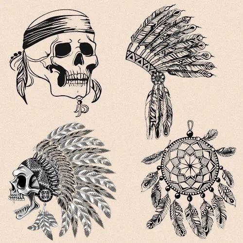 a1ab9e0e2 Temporary Tattoos For Men, Dry Pressure Based Tattoo   Andheri ...