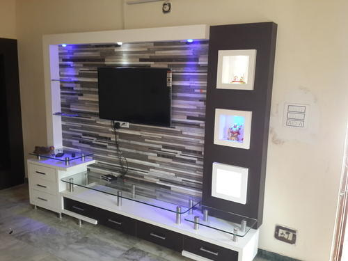 LCD TV Unit Console Television