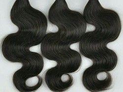 Black Wavy  Human Hair