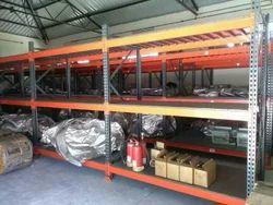 Galvanized Iron Warehouse Rack