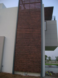 Duct Covering Fiber Cement Plank