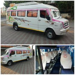 Hire Tempo Traveler On Rent in Pune