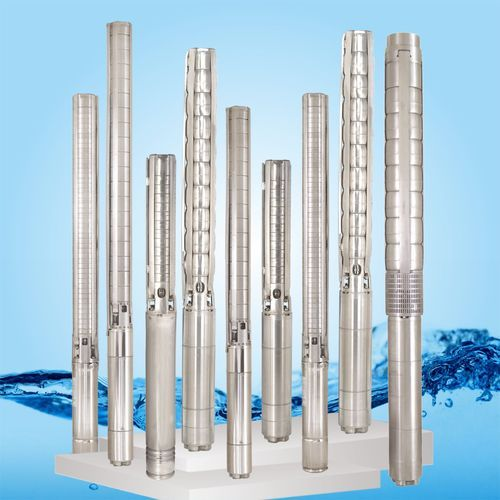 Stainless Steel Submersible Borewell Pumps