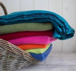Plain Fuzzy Baby Blanket