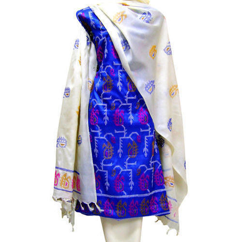Unstitched Tussar Silk Suit at Rs 2900 /piece | Unstitched Salwar ...