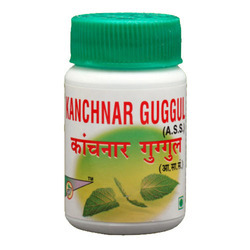 Kanchanar Guggulu, Packaging Type: Bottle, 100 Tab
