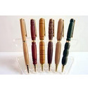 Wooden Pen with Engraved Names
