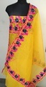 Aari Work On Super Net Salwar Suits