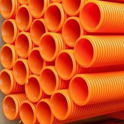 Corrugated HDPE Pipes and DWC HDPE Pipe Manufacturer | Alom