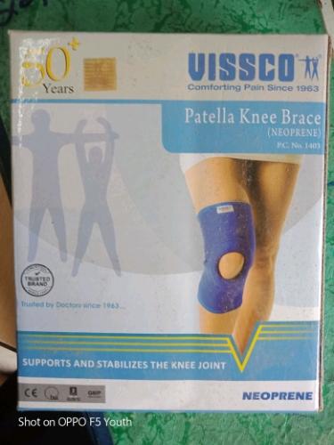 a10f820e49 Hinged Braces Vissco Patella Knee Brace, Janet Healthcare | ID ...