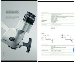 Carl Zeiss Microscope, ZEISS ENT OPMI, For Hospital | ID