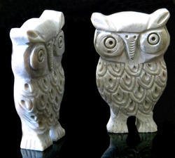 Stone Owl Statue, Usage/Application: Exterior Decor