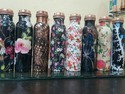 Radha Handicrafts Leak Proof Designer Floral Copper Bottles