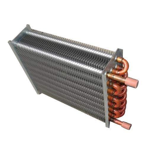 Mild Steel Finned Tube Box Type Heat Exchanger, Water