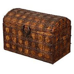 Hand Made Leather Trunk