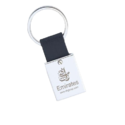 Leather & Metal Key Ring - Big