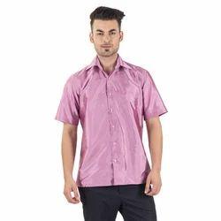 Scot Wilson Pink Art Silk Shirt