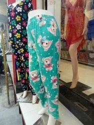 Ladies Velvet Pyjama
