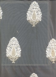 Garment Embroidered Cotton Fabric