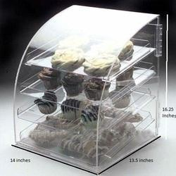 Clear Acrylic Bakery Display Case