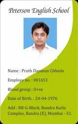 ID Card in Madurai, Tamil Nadu | Manufacturers & Suppliers of ID Card
