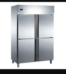 Stainless Steel 5 Four Door Chiller, Side By Side
