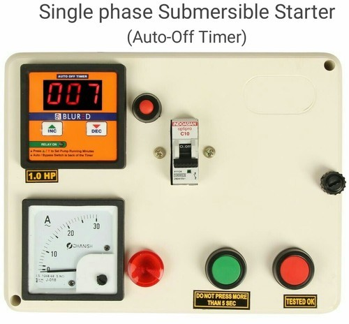 Submersible Panels Auto Off Timer  For Motor Control  Rs