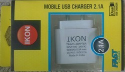 Ikon 2.1 Amp Double USB Charger