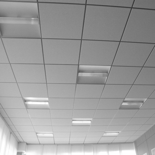 Steel Stainless Steel Grid False Ceiling Rs 130 Square