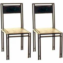 Industrial Reclaimed Wood Metal Wooden Chairs