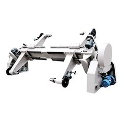 Electric Shaft Less Mill Paper Reel Stand