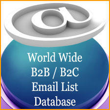 Worldwide Email Lists Database - Worldwide Email List Data