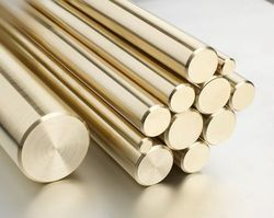 Round Lead Free Brass Rod, For Construction, Size: 0.5 To 2.0