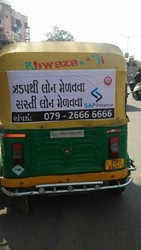 Auto Rickshaw Advertising Agency