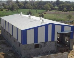 Factory Sheds Fabrication Service