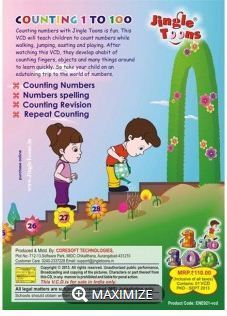 Counting Numbers Books, Kids Fiction & Entertainment Books