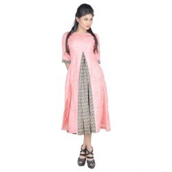 Cotton Ikat Turf Kurta